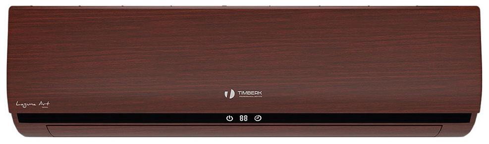 Сплит-система Timberk 12 H S 10 DW Laguna темное дерево