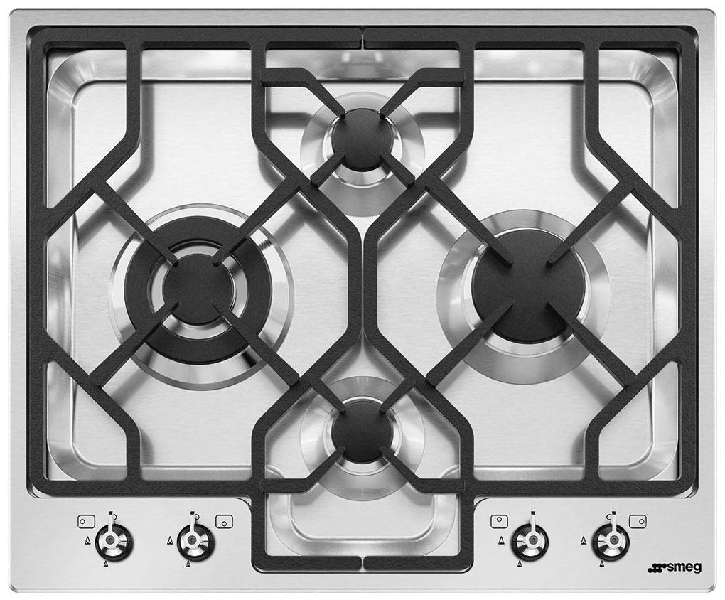 Встраиваемая газовая варочная панель Smeg PGF 64-4