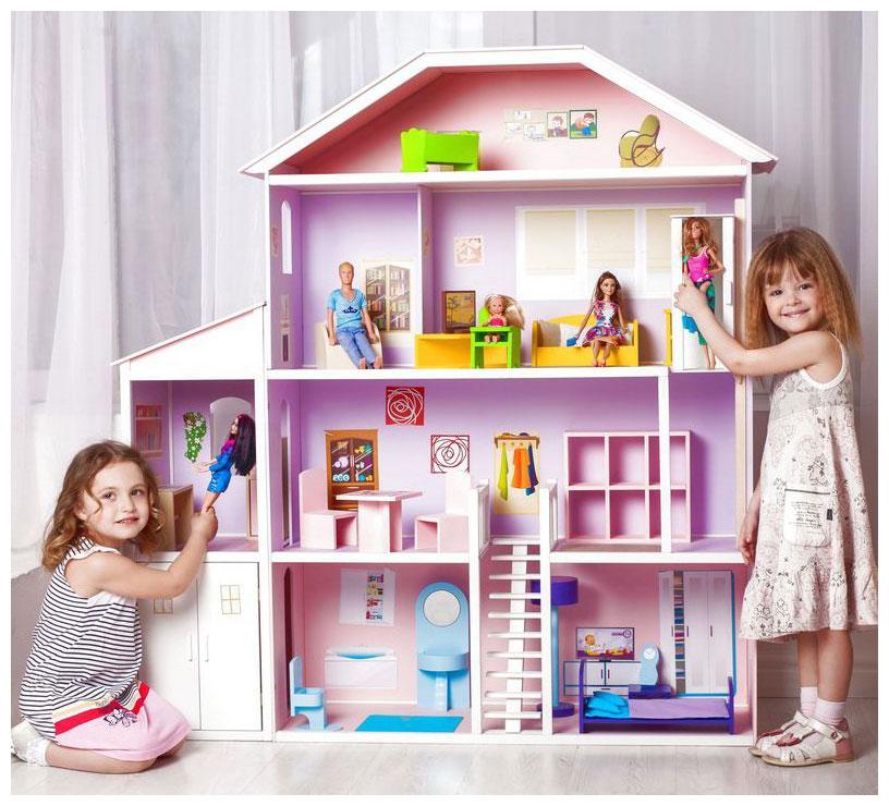 Где купить кукольный домик с мебелью