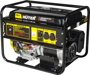 Электрический генератор и электростанция Huter DY 6500 LX- электростартер