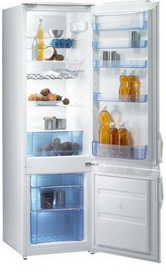 Двухкамерный холодильник Gorenje RK 41200 W двухкамерный холодильник позис rk 101 серебристый металлопласт