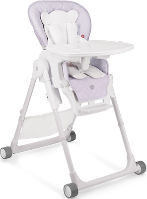 Стульчик для кормления Happy Baby Wiliam V2 LILAC автокресло happy baby skyler v2 grey 4690624020858