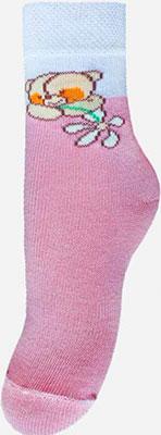 Носочки Брестский чулочный комбинат 14С3081 р.15-16 030 бл.розовый