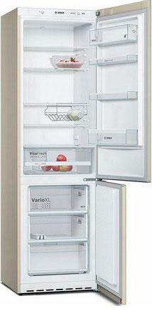 Двухкамерный холодильник Bosch KGE 39 XK 2 AR холодильник bosch kgn39nw13r двухкамерный белый