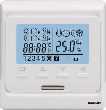 Терморегулятор REXANT R 51 XT терморегулятор rexant r 816 xt