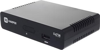 Цифровой телевизионный ресивер Harper HDT2-1005 harper hdt2 1005 dvb t2