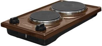 Настольная плита Лысьва ЭПБ 2 2 коричневая