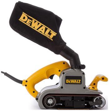Ленточная шлифовальная машина DeWalt