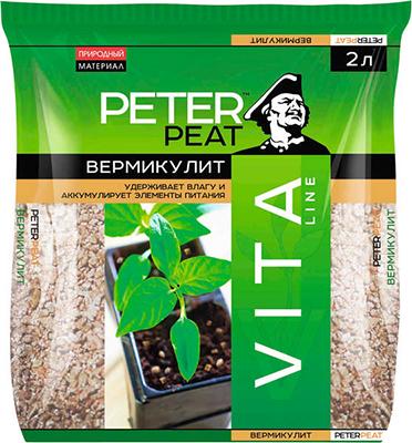 Вермикулит PETER PEAT линия Вита 2л насос unipump акваробот jet 100 l г а 2л 45190