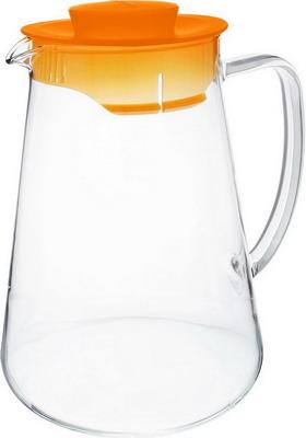 Кувшин Tescoma TEO оранжевый 646626.17 кувшин для холодильника tescoma teo с крышкой цвет прозрачный белый 1 л