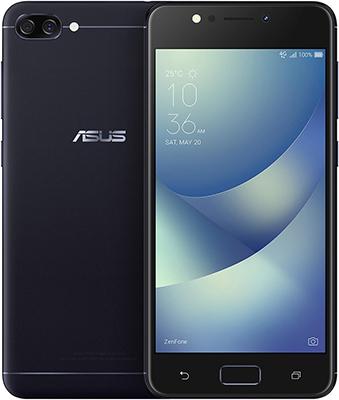 Мобильный телефон ASUS Zenfone 4 Max ZC 520 KL-4A 032 RU (90 AX 00 H1-M 00380) черный asus zenfone zoom zx551ml 128gb 2016 black
