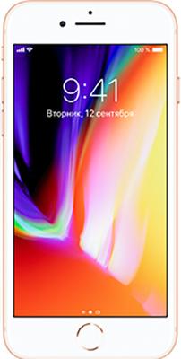 Смартфон Apple iPhone 8 64 ГБ золотой (MQ6J2RU/)