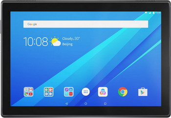 Планшет Lenovo Tab 4 TB-X 304 L 16 Gb (ZA2K 0056 RU) черный планшет планшет lenovo tab 4 tb 7504x za380087ru mediatek mt8735b 1 3 ghz 2048mb 16gb gps 3g lte wi fi bluetooth cam 7 0 1280x720 android
