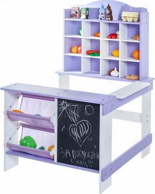 Игрушечный магазин Paremo PRT 116 фиолетовый кукольные домики и мебель paremo игрушечный магазин