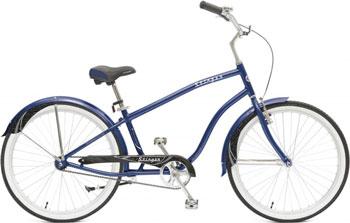 Велосипед Stinger 26'' CRUISER M 18'' синий 26 AHC.CRUISERM.18 BL5 велосипед stinger x65565 k cruiser nexus l 18 2015 white