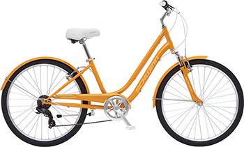 Велосипед Schwinn Suburban S 5483 CINT 26 оранжевый цена