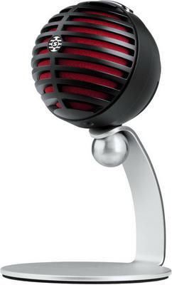 Микрофон Shure MV5/A-B-LTG черный микрофон shure sv200 a черный