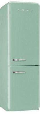 Двухкамерный холодильник Smeg FAB 32 RVN1 внутренний блок shivaki ssh pm186dc