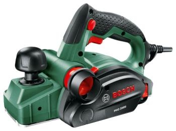 Рубанок Bosch PHO 2000 (06032 A 4120) электрорубанок bosch pho 3100 0603271120