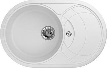 Кухонная мойка Weissgauff ASCOT 780 Eco Granit белый  цена и фото
