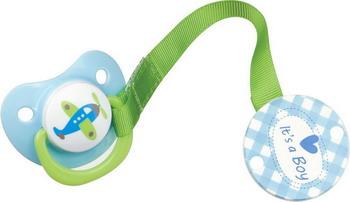 Соска-пустышка Happy Baby BIMBO 13007 Blue