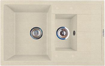 Кухонная мойка LAVA D.4 (CREMA) декор keraben velvet d cor bloom crema set2 60x90