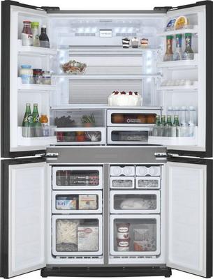 Многокамерный холодильник Sharp SJ-EX 98 FSL холодильник sharp sj gf60ar