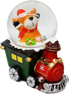 Шар декоративный Новогодняя сказка Паровоз 45 мм в ассорт. (972490) мягкие игрушки новогодняя сказка подвеска русские узоры 15 см серебро в ассорт
