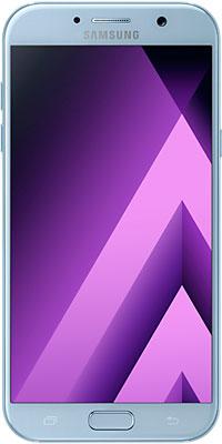Мобильный телефон Samsung Galaxy A7 (2017) SM-A 720 F синий мобильный телефон samsung metro sm b350e duos black blue