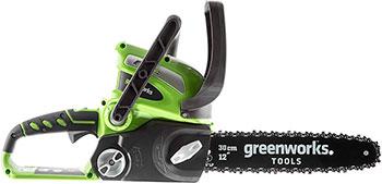 Цепная пила Greenworks 40 V G-max G 40 CS 30 без аккумулятора и зарядного устройства 20117 аккумуляторная цепная пила greenworks 80v digi pro gdcs50 без аккумулятора и зарядного устройства