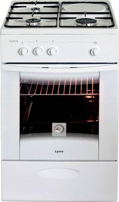 Газовая плита Лысьва ГП 300 МС СТ-2у белая без крышки газовая плита лысьва 401 м2с 2у без крышки белая