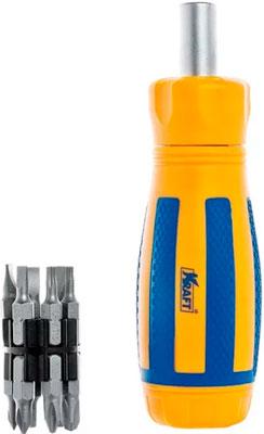 Купить Отвертка со сменными вставками Kraft, KT 700406, Китай