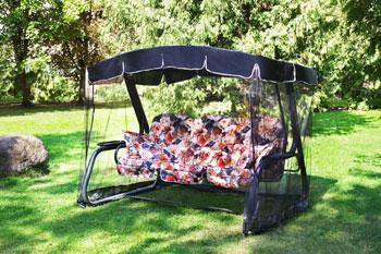 Качели садовые Olsa ''Мастак Премиум'' мебельная ткань с589