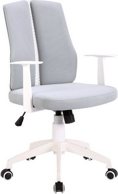 Кресло Tetchair LITE белый ткань серый 53 гантель неопреновая lite weights цвет серый 3 кг