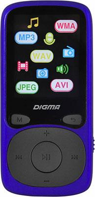 цена на MP3 плеер Digma B3 8Gb синий