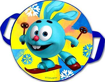 Ледянка Смешарики № 04 ''Крош на лыжах'' d-45см Г0005637 ледянка мягкая combosport смешарики бараш d 45 см