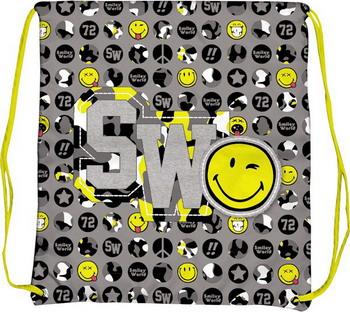 Мешок для сменной обуви Proff Smiley SM 15-SB-001 набор кистей 3шт белка 2 4 proff smiley в уп sm14 bs s3