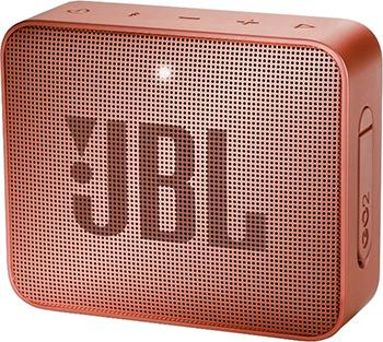 Портативная акустическая система JBL GO2 светло коричневый JBLGO2CINNAMON динамик jbl портативная акустическая система jbl flip 4 цвет squad
