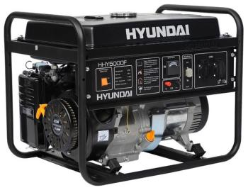 Электрический генератор и электростанция Hyundai HHY 5000 F компрессор hyundai home hhy 30