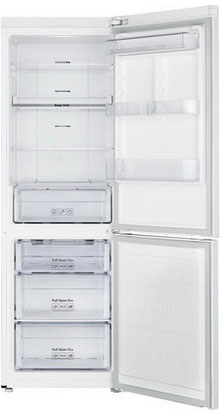 Двухкамерный холодильник Samsung RB 33 J 3400 WW холодильник samsung rb 33 j3420bc