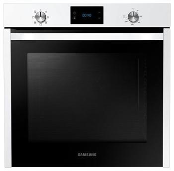 Встраиваемый электрический духовой шкаф Samsung NV 75 J 3140 BW/WT электрический духовой шкаф samsung nv75k5571rs wt