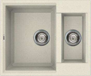 Кухонная мойка Elleci EASY 150  granitek (62) Bianco Antico LGY 15062