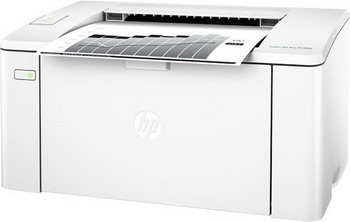 Принтер HP LaserJet Pro M 104 a RU (G3Q 36 A) принтер hp laserjet pro m 104 w ru g3q 37 a