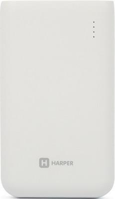 Внешний аккумулятор Harper PB-10010 WHITE аккумулятор внешний nobby pb 007 white