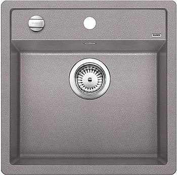 Кухонная мойка BLANCO DALAGO 5-F SILGRANIT алюметаллик с клапаном-автоматом мойка dalago 6 f white 514771 blanco