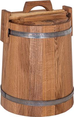 Кадка БонПос дубовая 15л НЖ с гнетом кадка бонпос дубовая 15л нж с гнетом