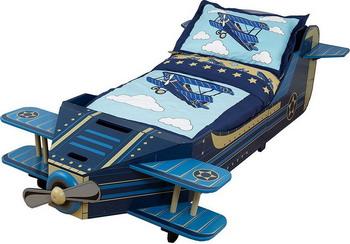 Детская кроватка KidKraft Самолет 76277_KE kidkraft детская корзинка