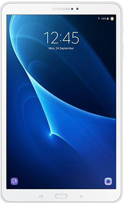 Планшет Samsung Galaxy Tab  10. WiFi SM- 580 белый