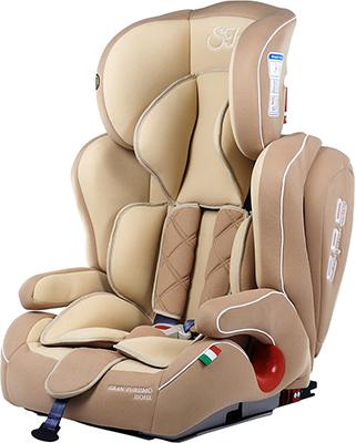 Автокресло Sweet Baby Gran Turismo SPS Isofix Beige 386 010 машинки autotime машина bavaria gran turismo пожарная охрана