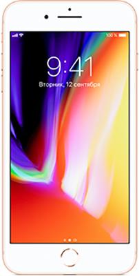 Смартфон Apple iPhone 8 Plus 64 ГБ золотой (MQ8N2RU/)